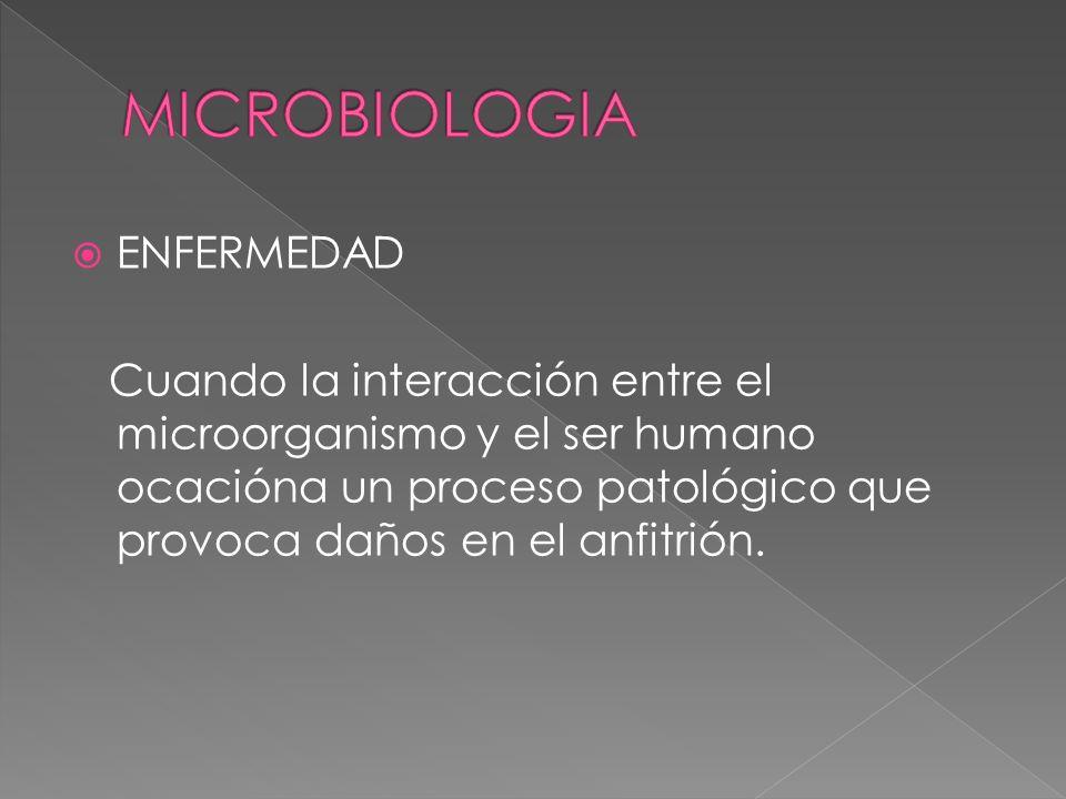 MICROBIOLOGIA ENFERMEDAD