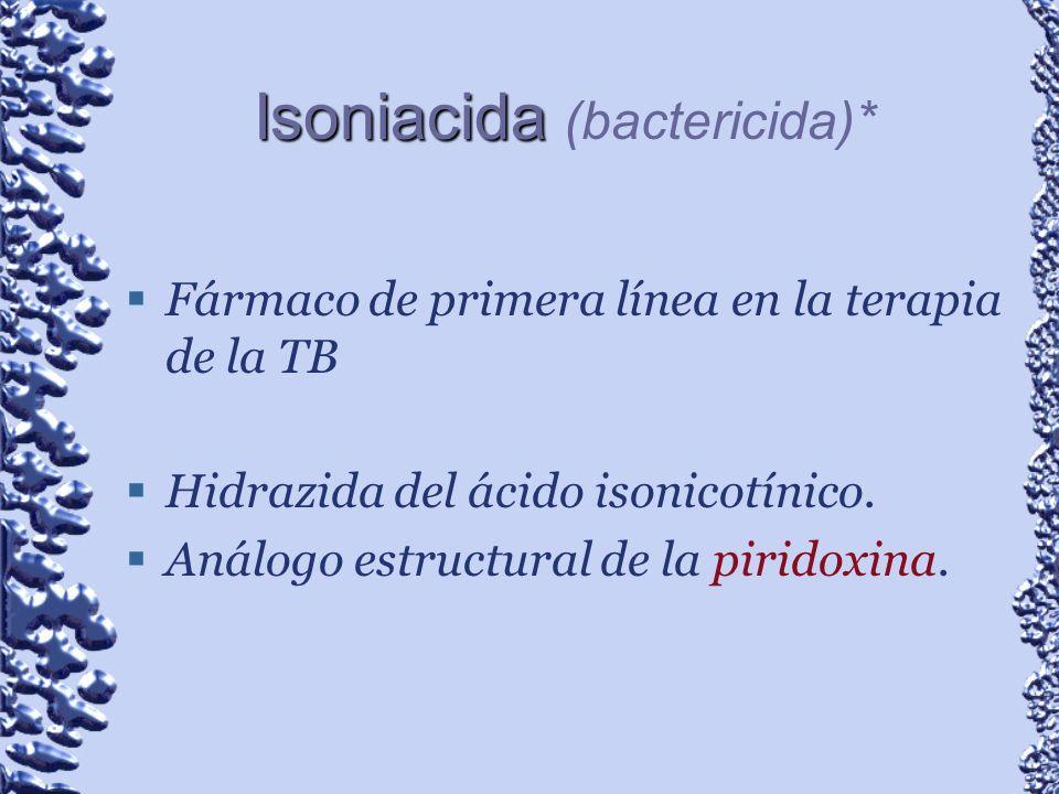 Isoniacida (bactericida)*