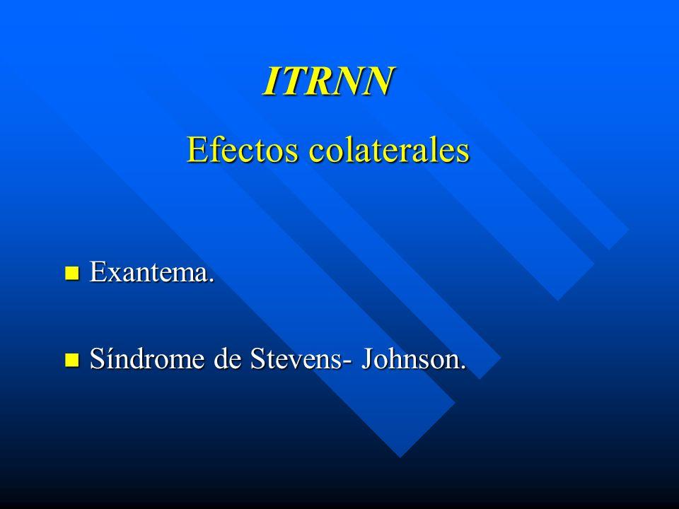 ITRNN Efectos colaterales