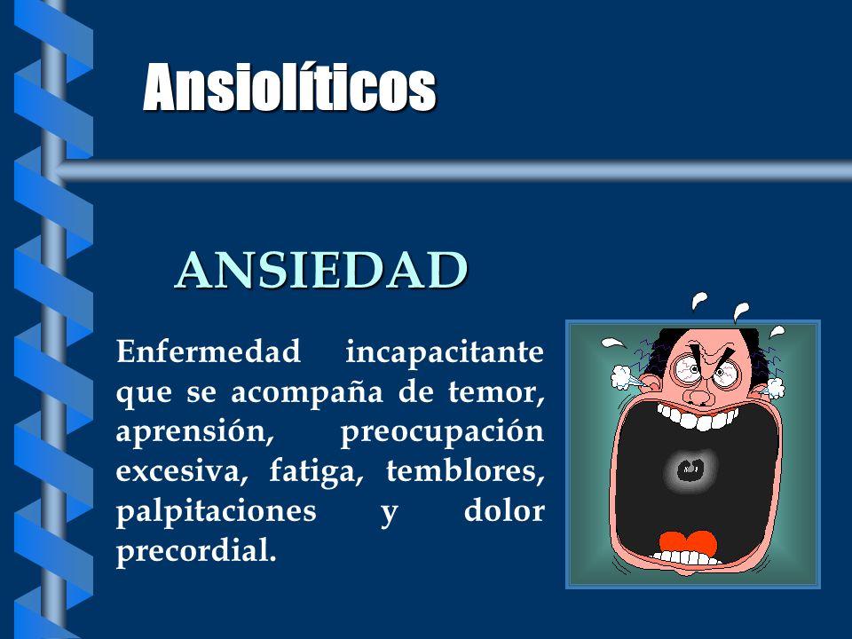 Ansiolíticos ANSIEDAD