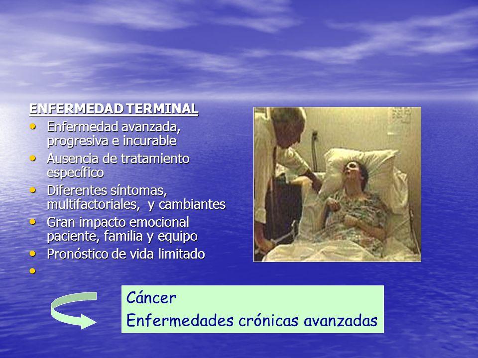 Enfermedades crónicas avanzadas