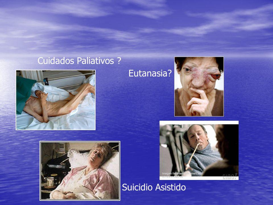 Cuidados Paliativos Eutanasia Suicidio Asistido