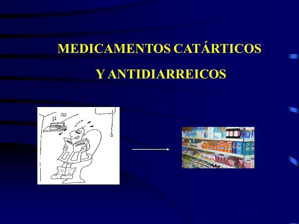 MEDICAMENTOS CATÁRTICOS