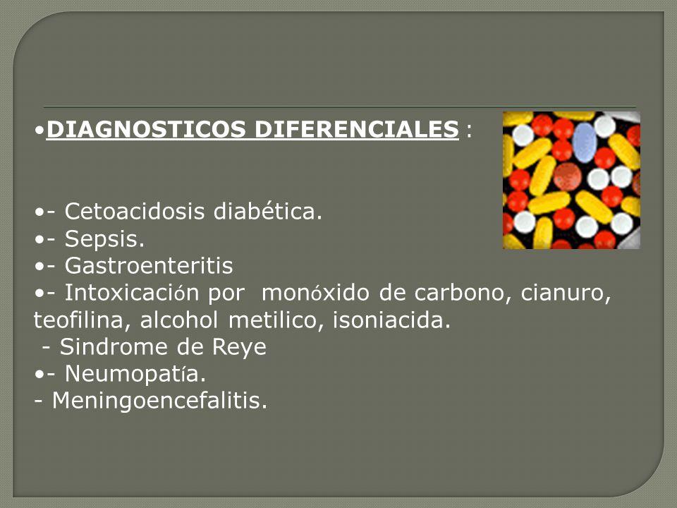 DIAGNOSTICOS DIFERENCIALES :