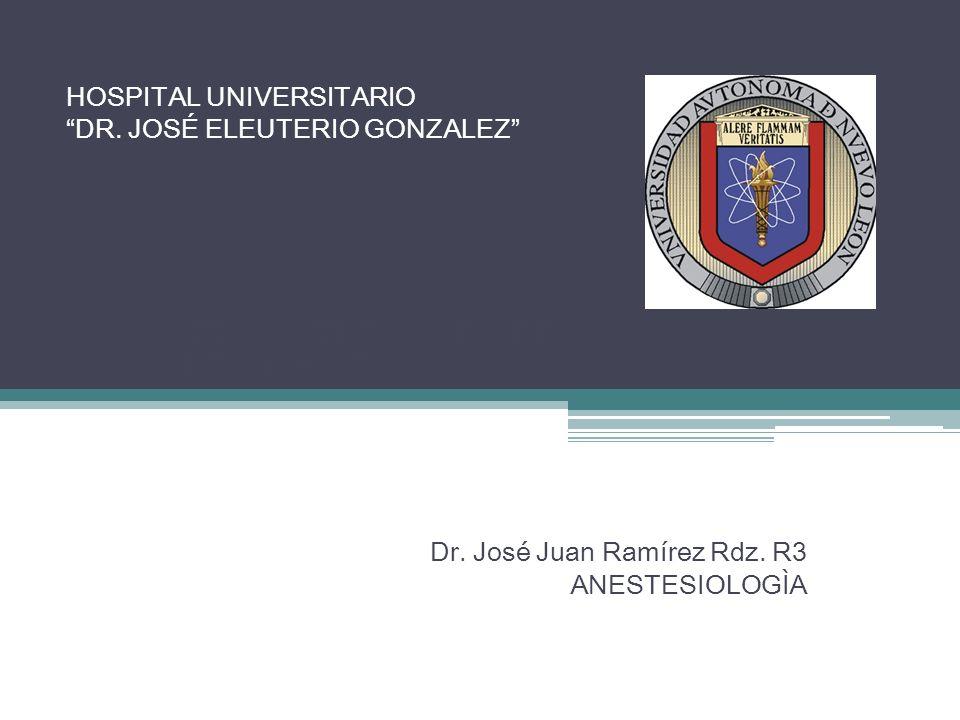 HOSPITAL UNIVERSITARIO DR. JOSÉ ELEUTERIO GONZALEZ