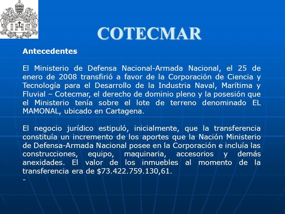 COTECMAR Antecedentes