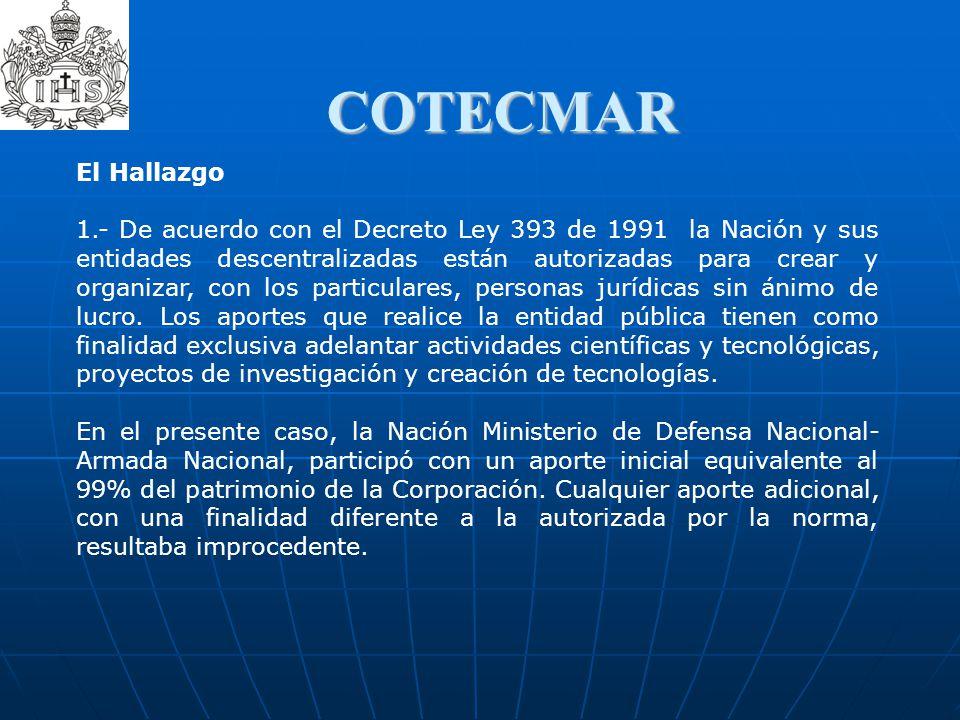 COTECMAR El Hallazgo.