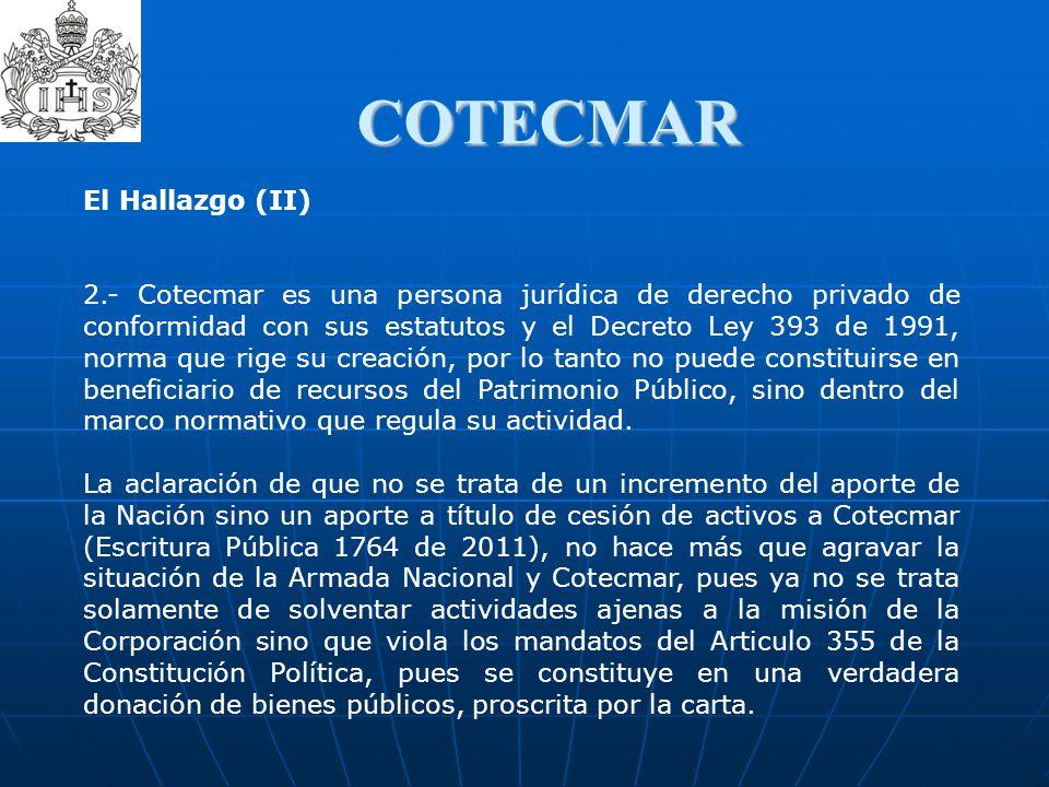 COTECMAR El Hallazgo (II)