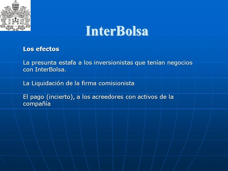InterBolsa  Los efectos