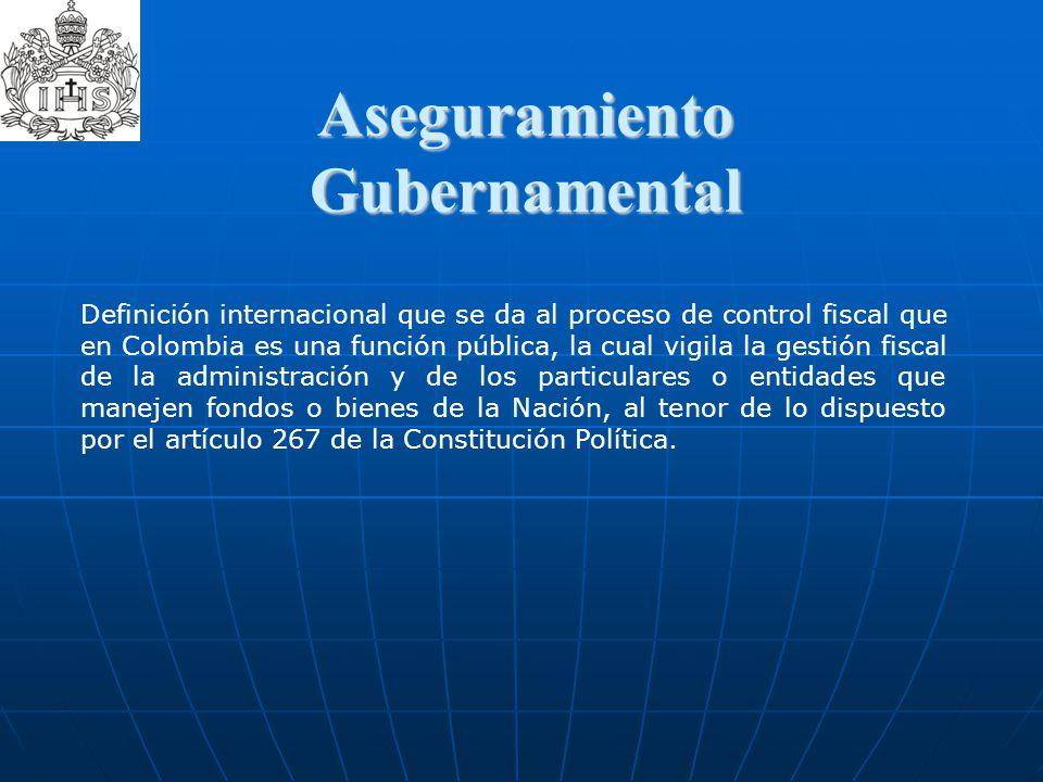 Aseguramiento Gubernamental