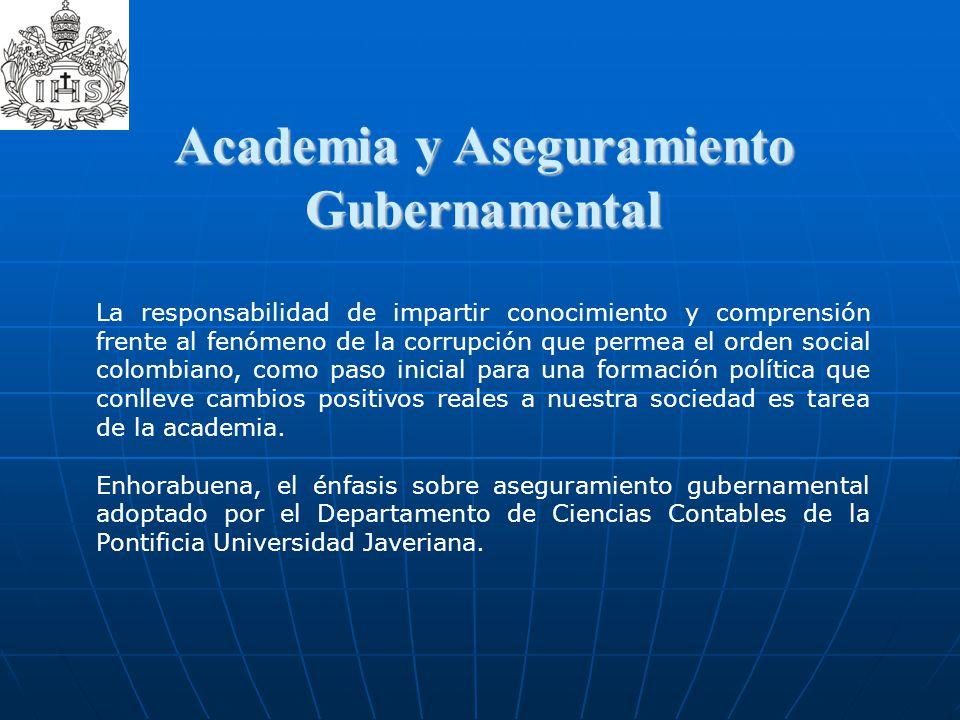Academia y Aseguramiento