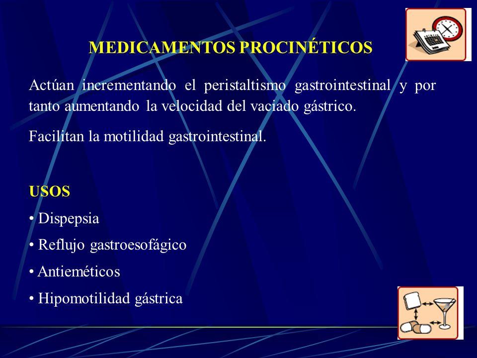 MEDICAMENTOS PROCINÉTICOS