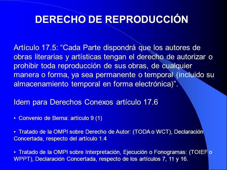 DERECHO DE REPRODUCCIÓN