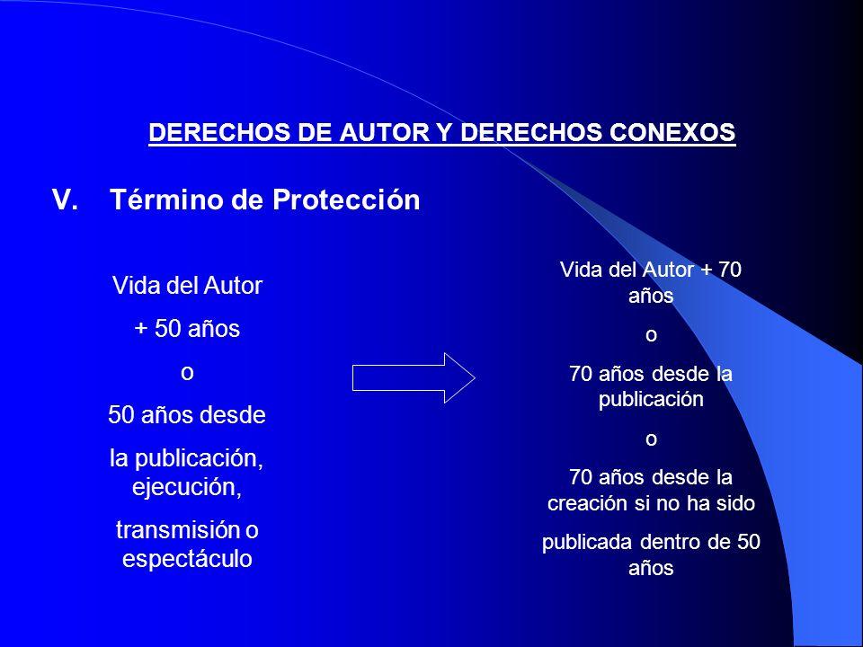 DERECHOS DE AUTOR Y DERECHOS CONEXOS