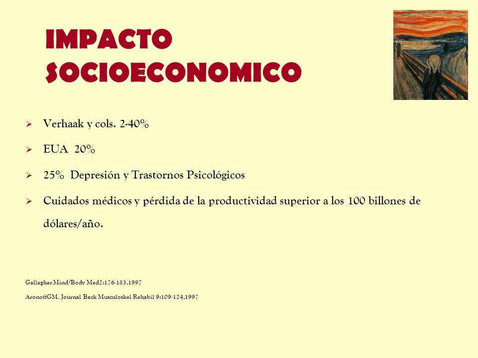 IMPACTO SOCIOECONOMICO
