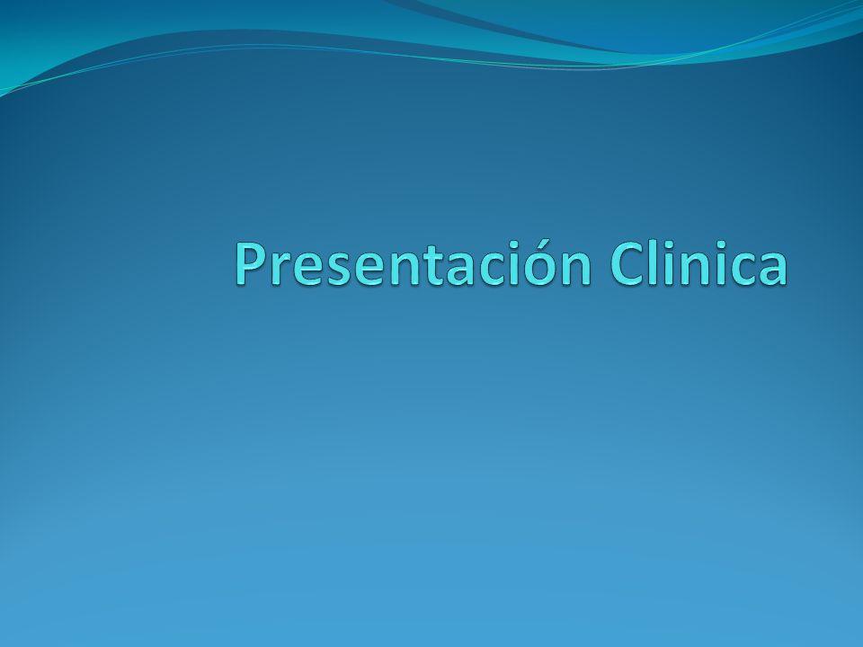 Presentación Clinica