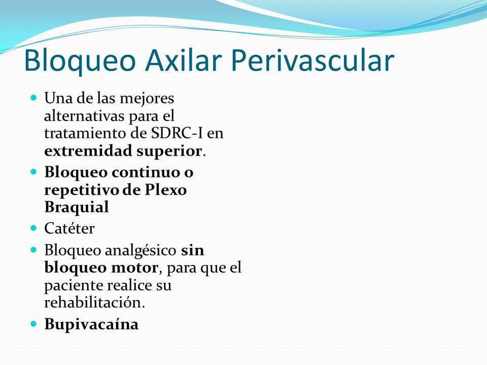 Bloqueo Axilar Perivascular