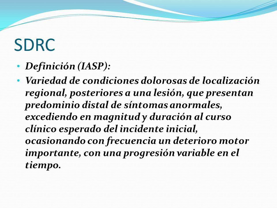 SDRC Definición (IASP):