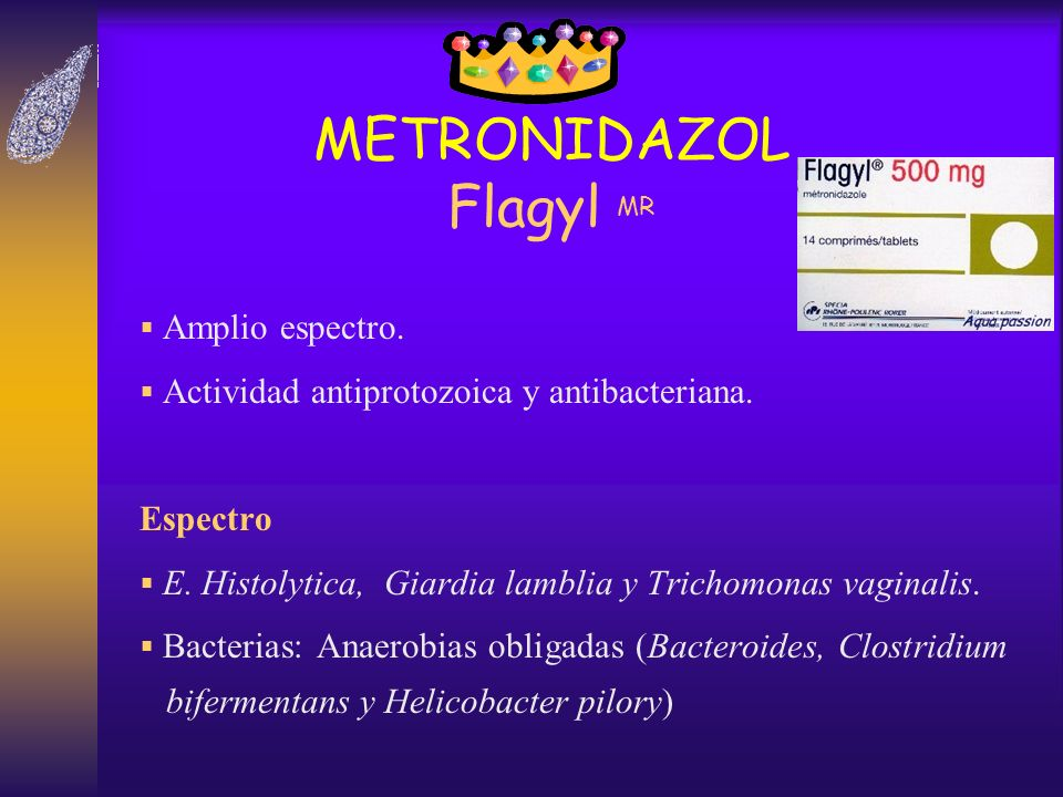 METRONIDAZOL Flagyl MR
