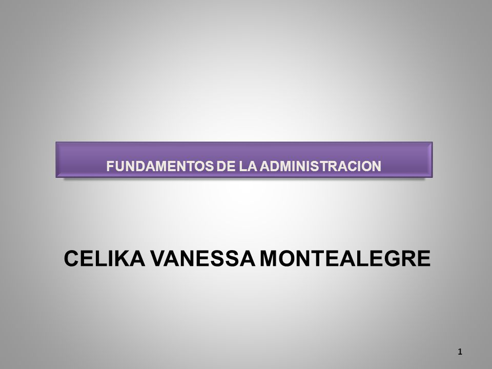 CELIKA VANESSA MONTEALEGRE