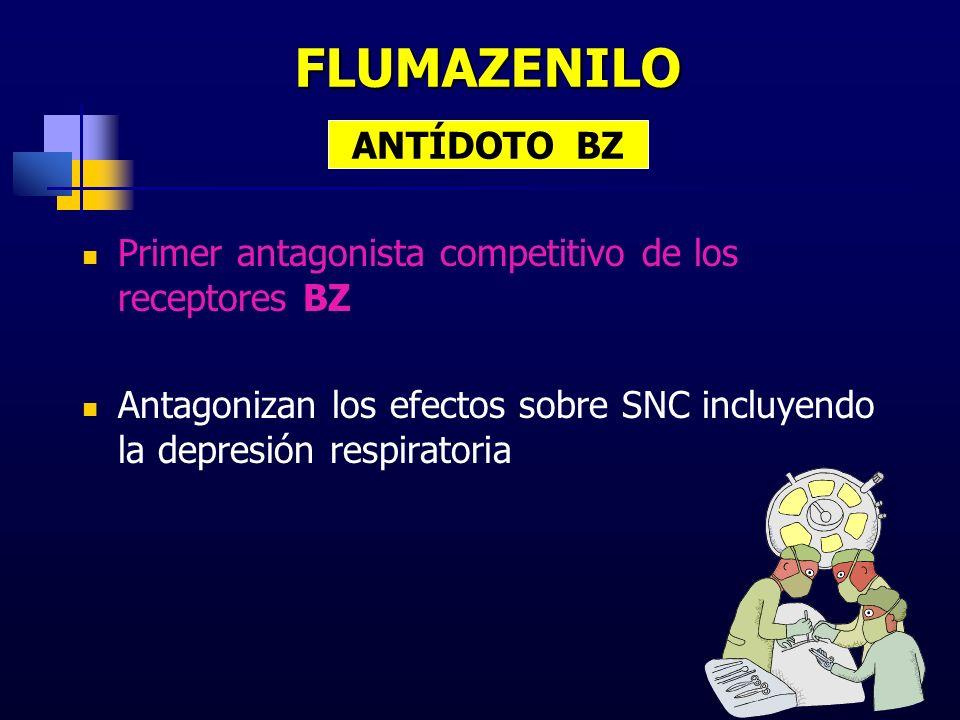 FLUMAZENILO ANTÍDOTO BZ