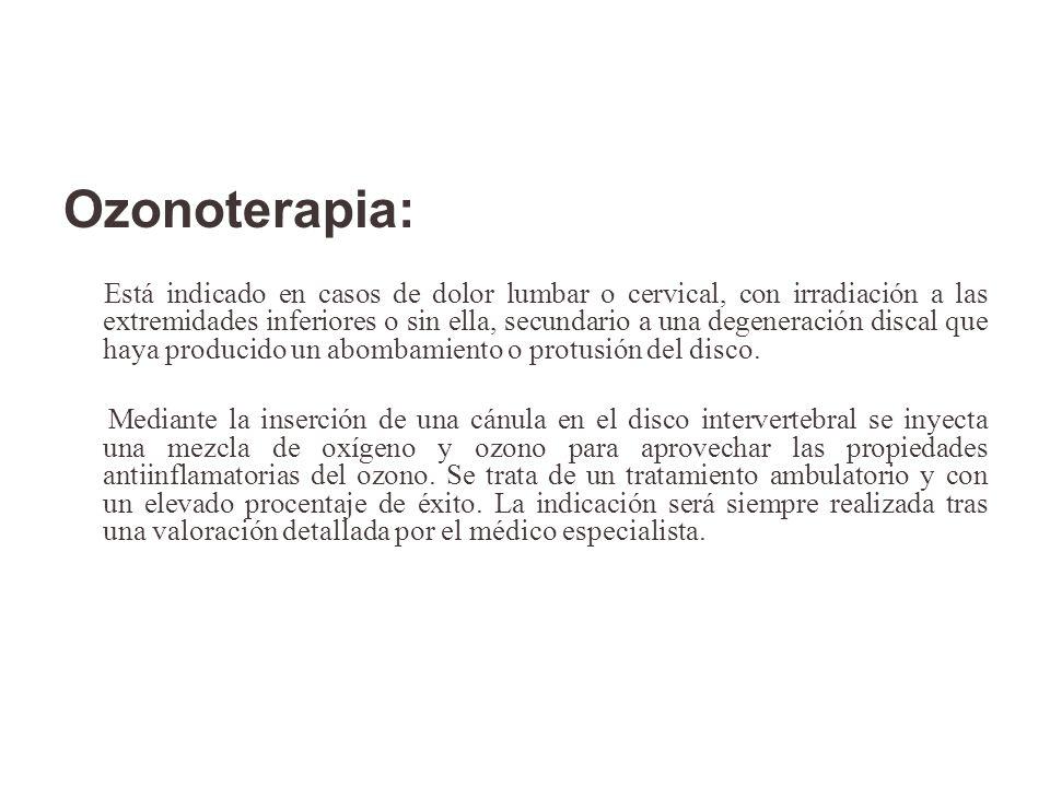 Ozonoterapia: