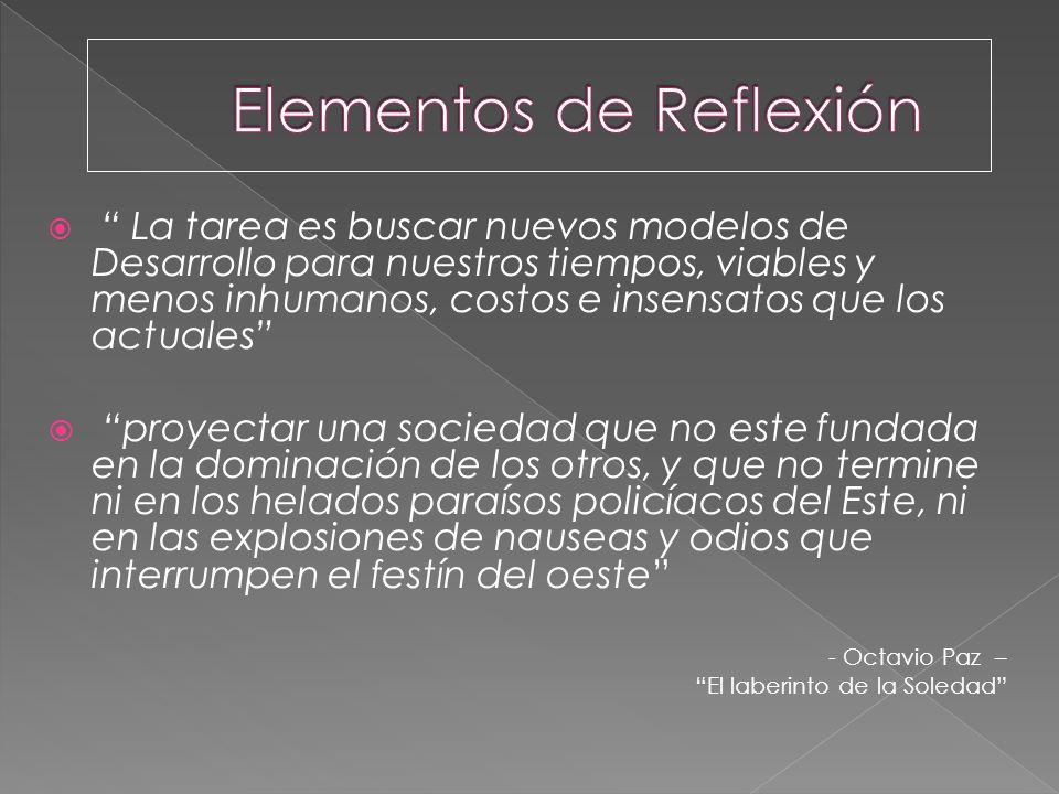 Elementos de Reflexión