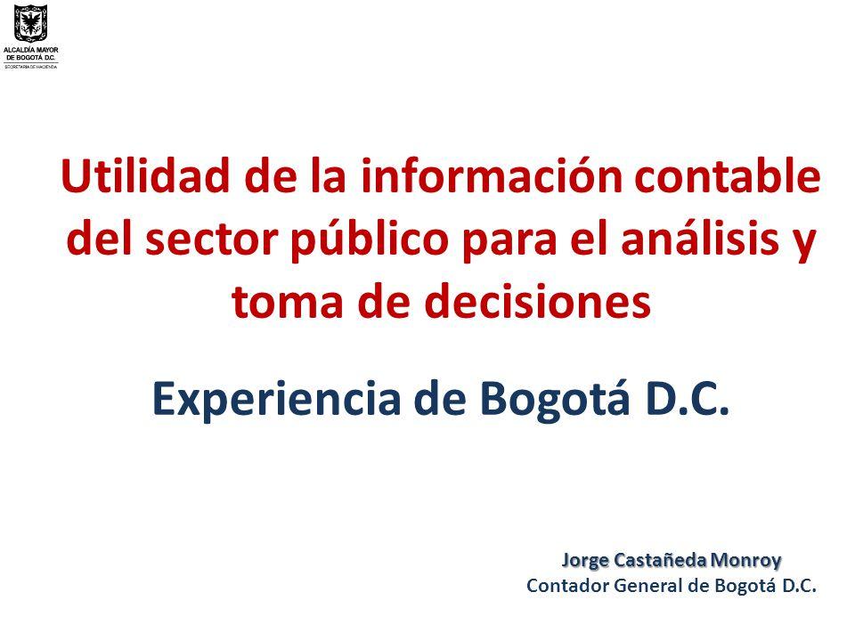 Experiencia de Bogotá D.C.