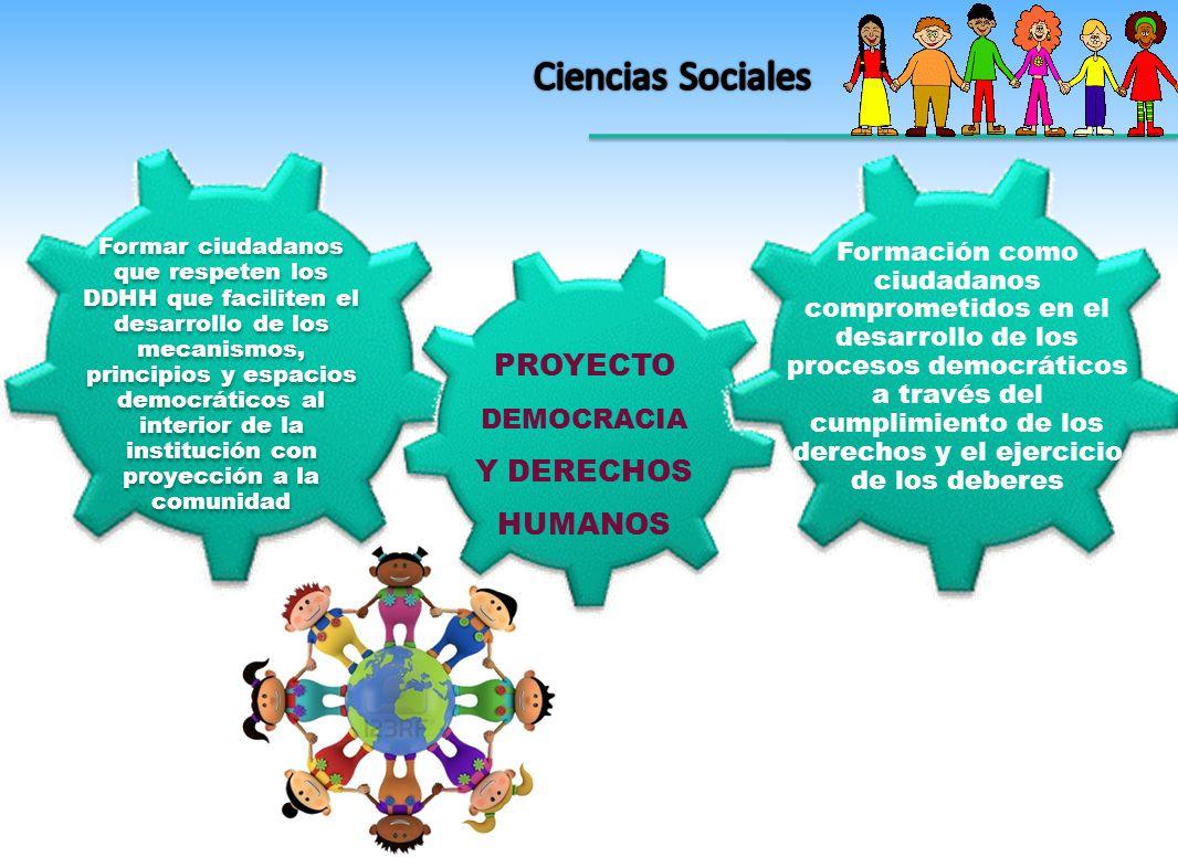 PROYECTO DEMOCRACIA Y DERECHOS HUMANOS