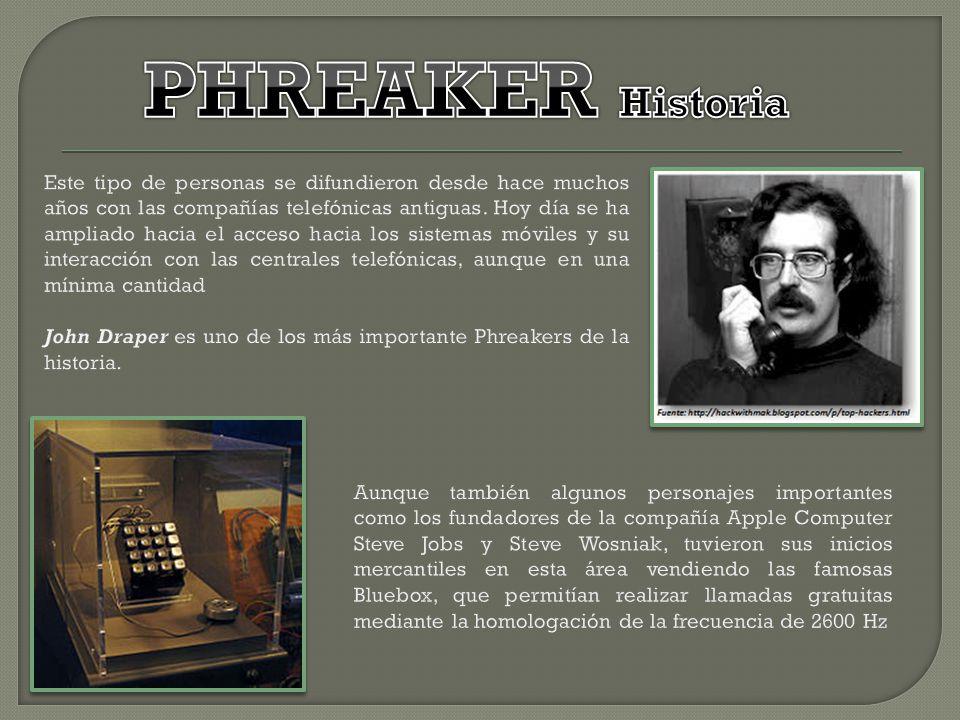 PHREAKER Historia