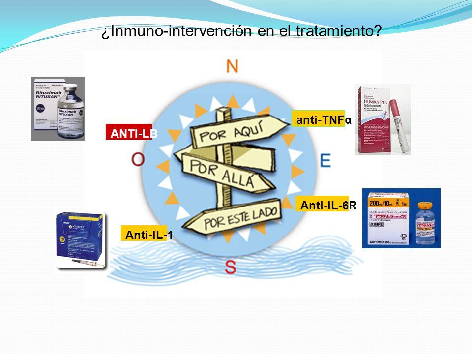¿Inmuno-intervención en el tratamiento