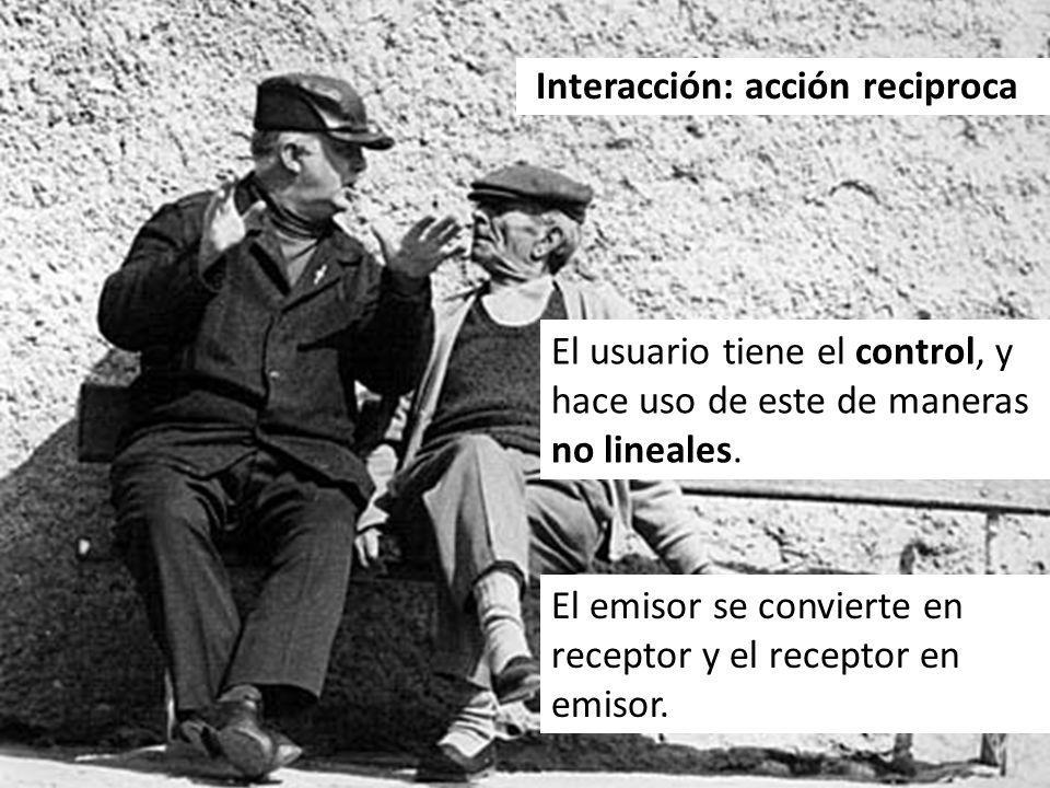 Interacción: acción reciproca