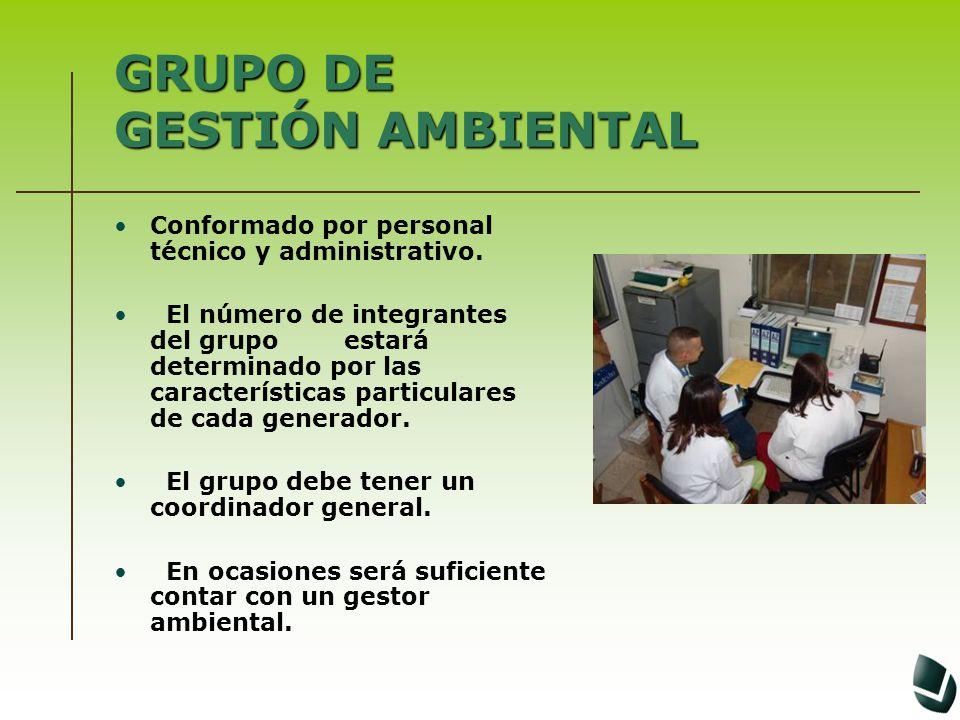 GRUPO DE GESTIÓN AMBIENTAL