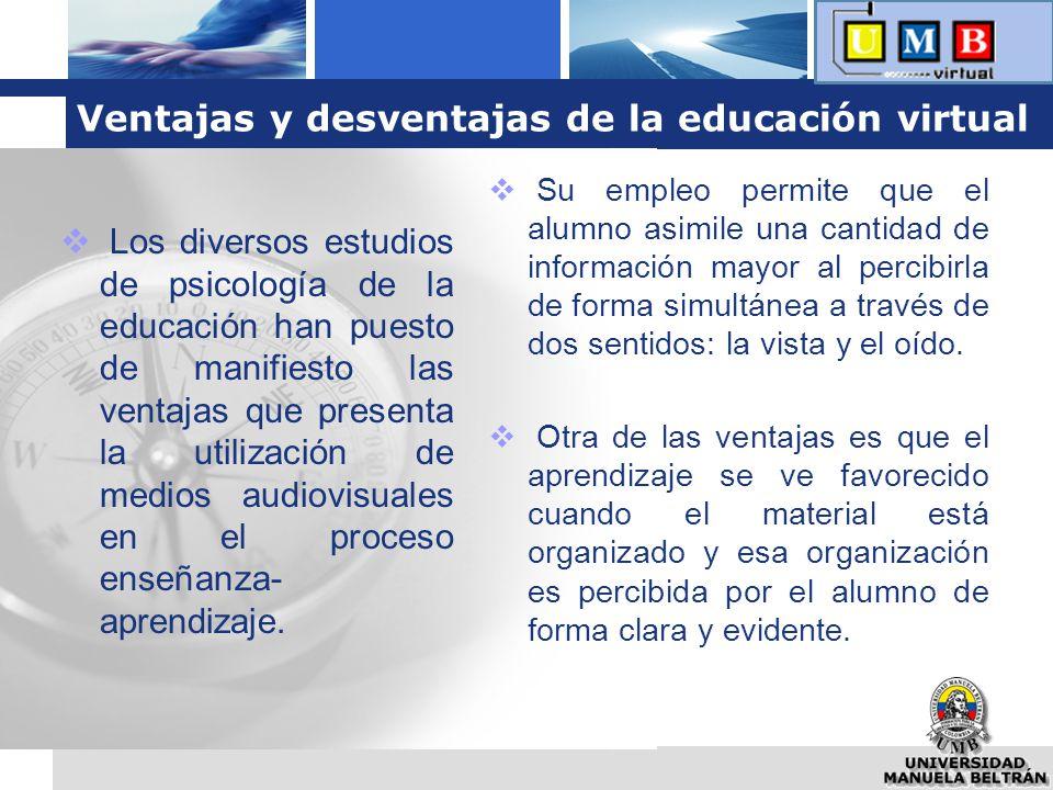 Ventajas y desventajas de la educación virtual
