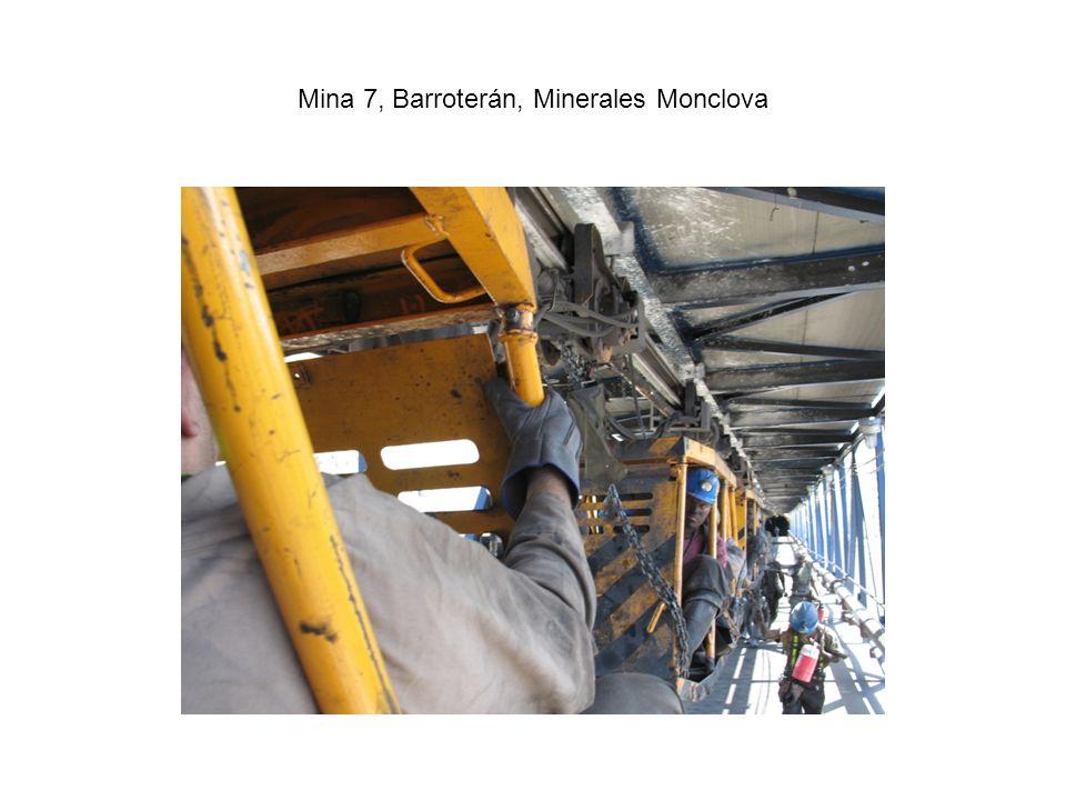 Mina 7, Barroterán, Minerales Monclova