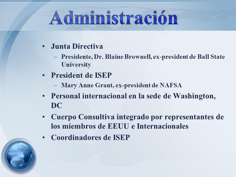 Administración Junta Directiva President de ISEP