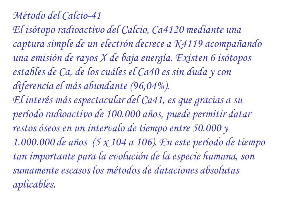 Método del Calcio-41