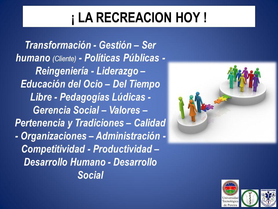 ¡ LA RECREACION HOY !