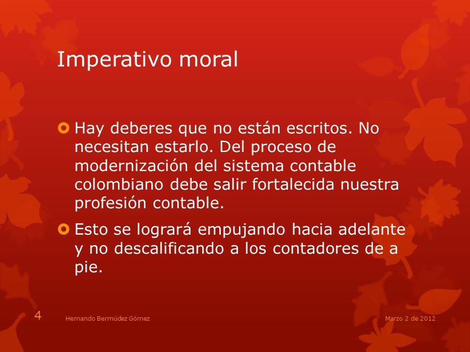 Imperativo moral