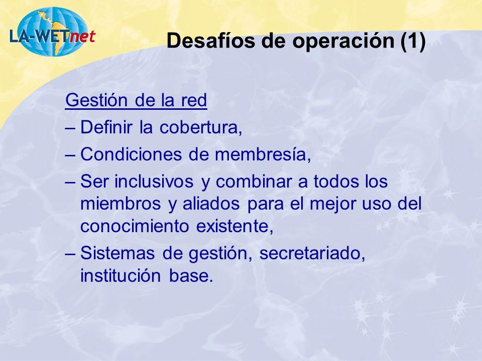 Desafíos de operación (1)