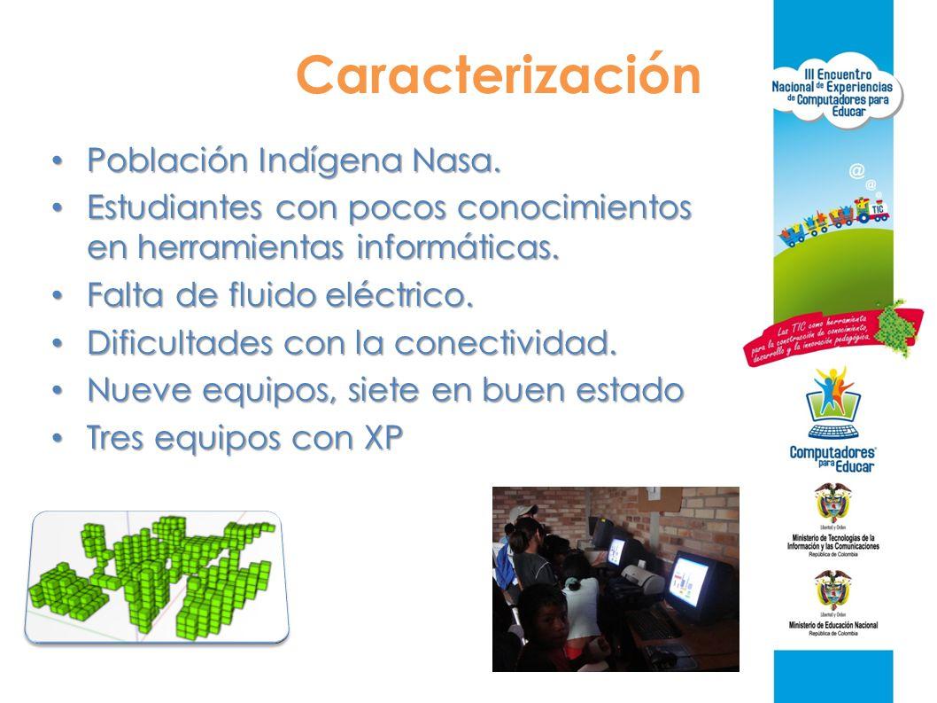 Caracterización Población Indígena Nasa.