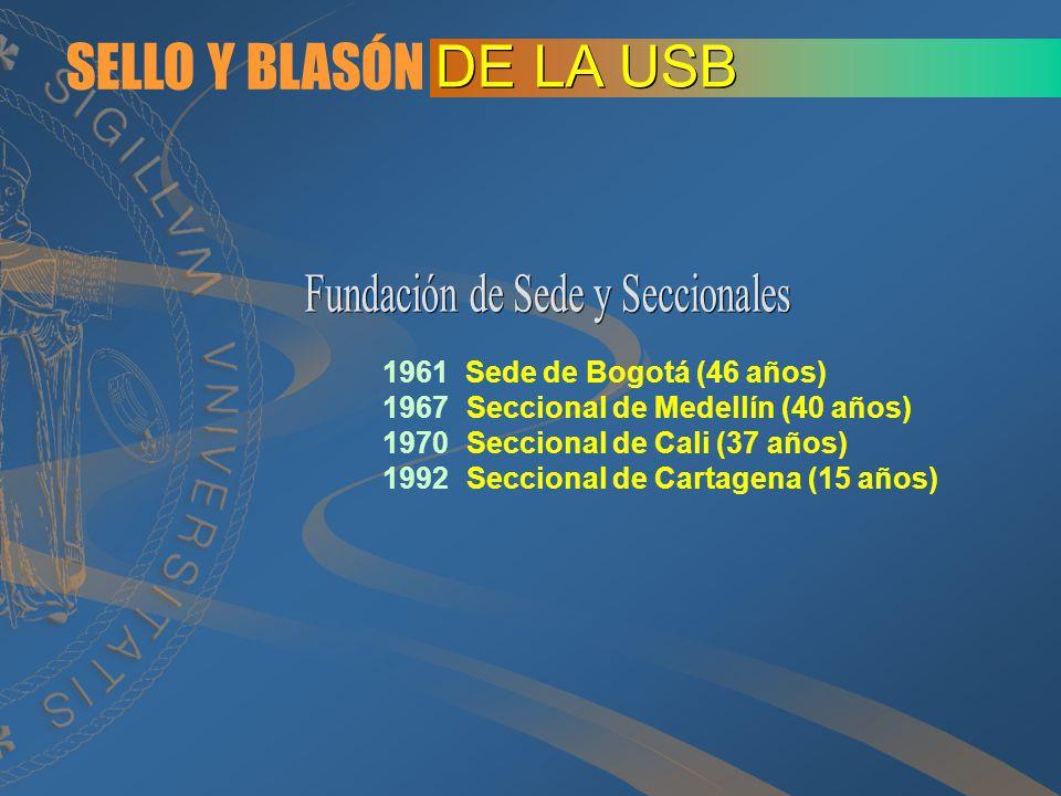 Fundación de Sede y Seccionales