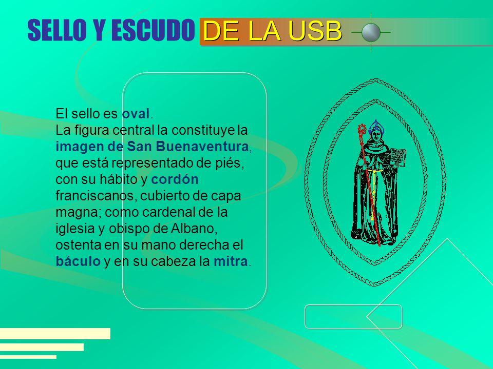 SELLO Y ESCUDO DE LA USB.