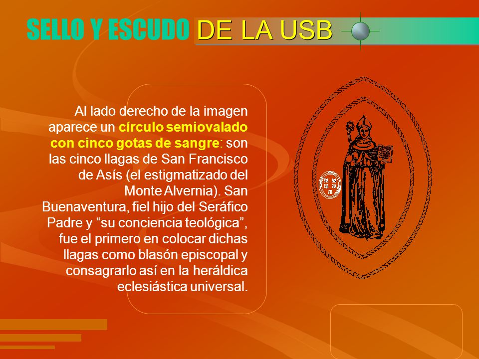 SELLO Y ESCUDO DE LA USB.