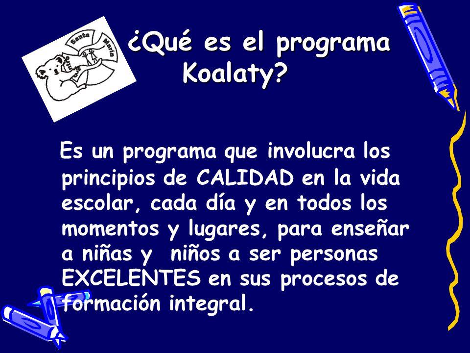 ¿Qué es el programa Koalaty