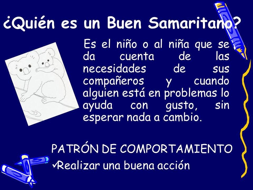 ¿Quién es un Buen Samaritano