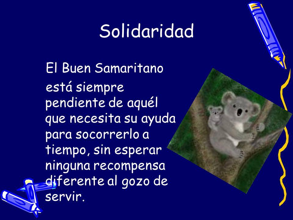 Solidaridad El Buen Samaritano