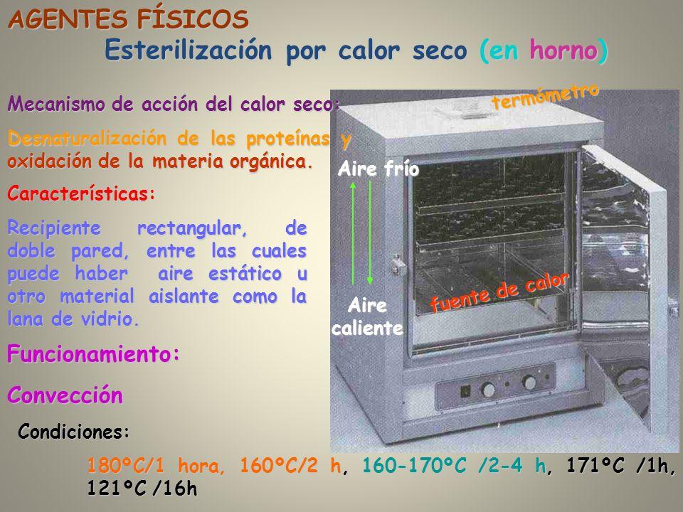 Esterilización por calor seco (en horno)