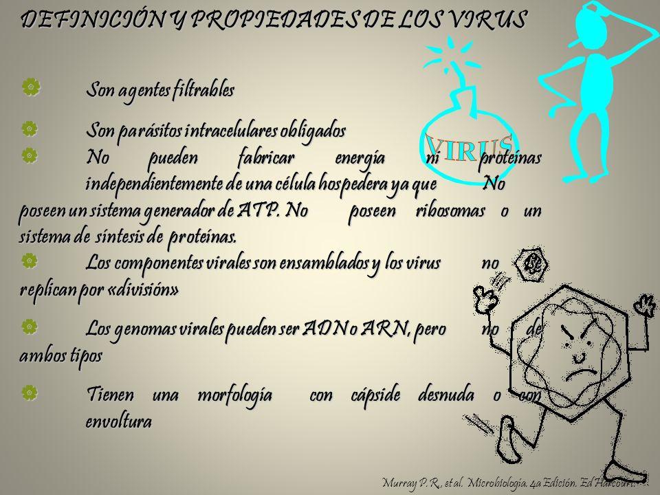 DEFINICIÓN Y PROPIEDADES DE LOS VIRUS