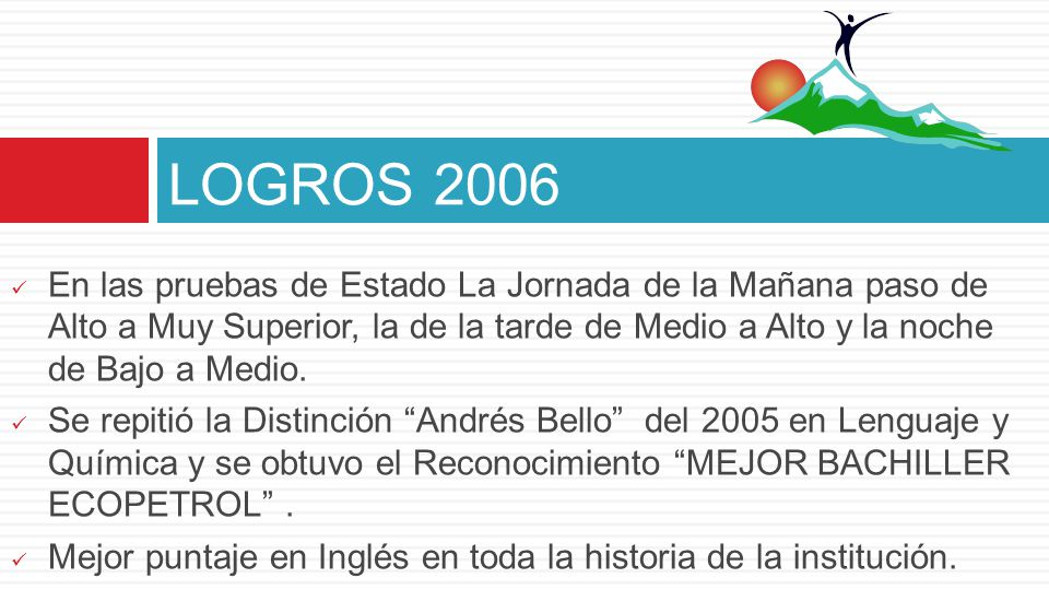 LOGROS 2006